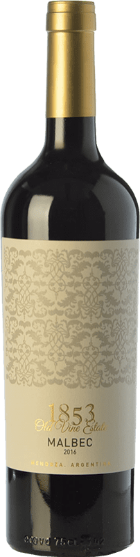 9,95 € Free Shipping | Red wine Kauzo 1853 Joven I.G. Valle de Uco Uco Valley Argentina Malbec Bottle 75 cl