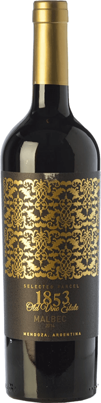 12,95 € Free Shipping | Red wine Kauzo 1853 Reserve Selected Parcel Reserva I.G. Valle de Uco Uco Valley Argentina Malbec Bottle 75 cl