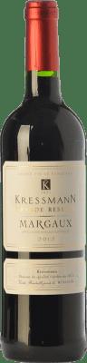 24,95 € Free Shipping | Red wine Kressmann Grande Réserve Gran Reserva A.O.C. Margaux Bordeaux France Merlot, Cabernet Sauvignon, Petit Verdot Bottle 75 cl