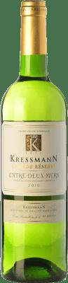 6,95 € Kostenloser Versand | Weißwein Kressmann Grande Réserve A.O.C. Entre-deux-Mers Bordeaux Frankreich Sauvignon Weiß, Sémillon, Muscadelle Flasche 75 cl