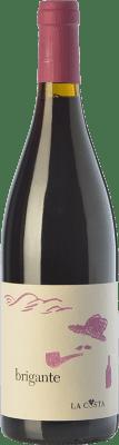 18,95 € Free Shipping | Red wine La Costa Brigante Rosso I.G.T. Terre Lariane Lombardia Italy Merlot, Pinot Black Bottle 75 cl