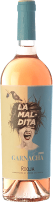 8,95 € Free Shipping | Rosé wine La Maldita D.O.Ca. Rioja The Rioja Spain Grenache Bottle 75 cl