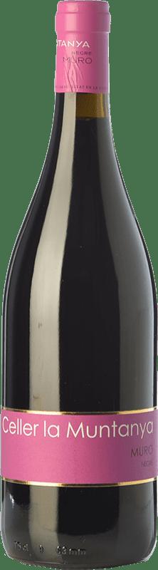 12,95 € Free Shipping | Red wine La Muntanya Joven D.O. Alicante Valencian Community Spain Grenache, Monastrell, Grenache Tintorera, Bonicaire Bottle 75 cl