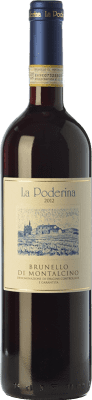 51,95 € Free Shipping | Red wine La Poderina D.O.C.G. Brunello di Montalcino Tuscany Italy Sangiovese Bottle 75 cl