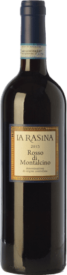 18,95 € Free Shipping | Red wine La Rasina D.O.C. Rosso di Montalcino Tuscany Italy Sangiovese Bottle 75 cl