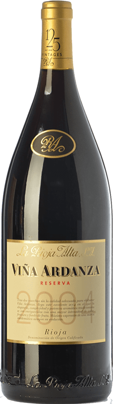 53,95 € Kostenloser Versand | Rotwein Rioja Alta Viña Ardanza Reserva 2008 D.O.Ca. Rioja La Rioja Spanien Tempranillo, Grenache Magnum-Flasche 1,5 L