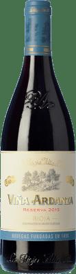 19,95 € Envío gratis | Vino tinto Rioja Alta Viña Ardanza Reserva D.O.Ca. Rioja La Rioja España Tempranillo, Garnacha Botella 75 cl