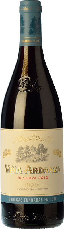 21,95 € Free Shipping | Red wine Rioja Alta Viña Ardanza Reserva D.O.Ca. Rioja The Rioja Spain Tempranillo, Grenache Bottle 75 cl