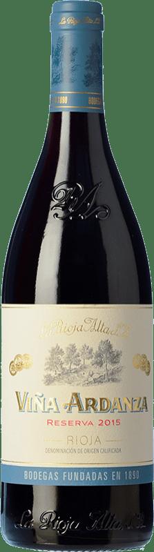 19,95 € Envoi gratuit | Vin rouge Rioja Alta Viña Ardanza Reserva D.O.Ca. Rioja La Rioja Espagne Tempranillo, Grenache Bouteille 75 cl