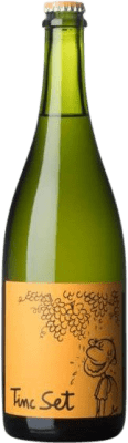 9,95 € Free Shipping | White sparkling La Salada Tinc Set Ancestral Spain Macabeo, Xarel·lo Bottle 75 cl. | Thousands of wine lovers trust us to get the best price guarantee, free shipping always and hassle-free shopping and returns.