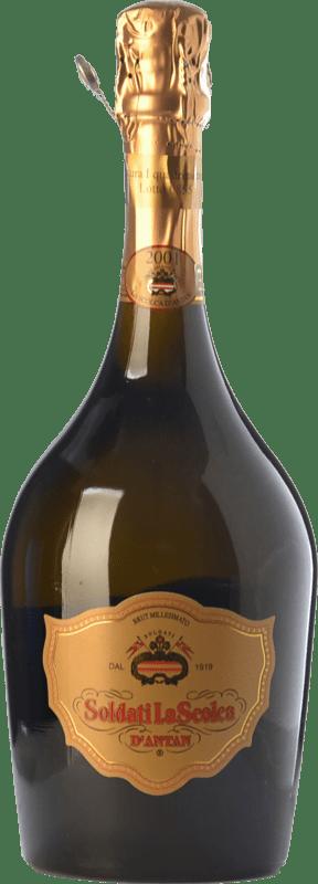 75,95 € Free Shipping | White sparkling La Scolca D'Antan Brut 2001 D.O.C.G. Cortese di Gavi Piemonte Italy Cortese Bottle 75 cl