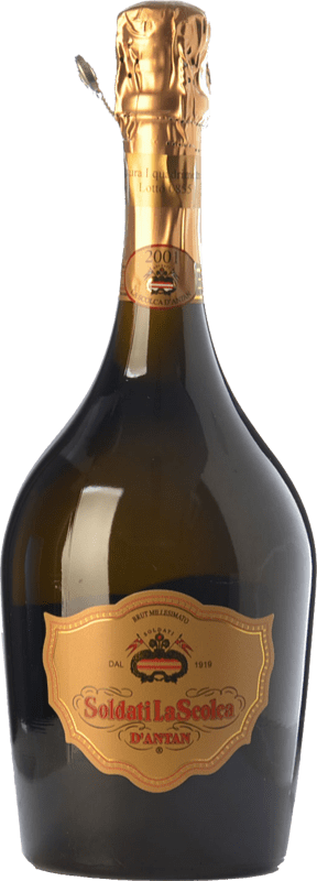 75,95 € Free Shipping | White sparkling La Scolca D'Antan Brut 2003 D.O.C.G. Cortese di Gavi Piemonte Italy Cortese Bottle 75 cl