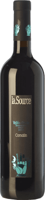 17,95 € Free Shipping | Red wine La Source D.O.C. Valle d'Aosta Valle d'Aosta Italy Cornalin Bottle 75 cl