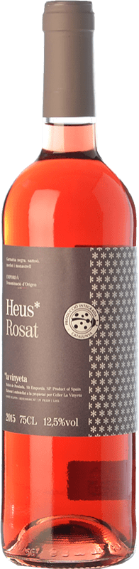 7,95 € Envío gratis   Vino rosado La Vinyeta Heus Rosat D.O. Empordà Cataluña España Merlot, Syrah, Garnacha, Samsó Botella 75 cl