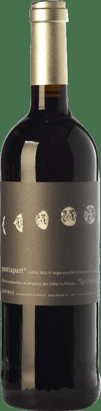 15,95 € Free Shipping | Red wine La Vinyeta Puntiapart Crianza D.O. Empordà Catalonia Spain Cabernet Sauvignon, Carignan Bottle 75 cl