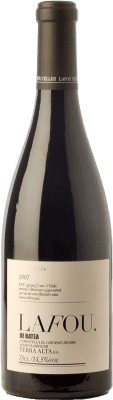 35,95 € Envío gratis | Vino tinto Lafou Batea Crianza D.O. Terra Alta Cataluña España Syrah, Garnacha, Cabernet Sauvignon Botella 75 cl