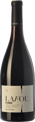 12,95 € Free Shipping | Red wine Lafou El Sender Joven D.O. Terra Alta Catalonia Spain Syrah, Grenache, Morenillo Bottle 75 cl
