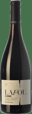 9,95 € Envío gratis | Vino tinto Lafou El Sender Joven D.O. Terra Alta Cataluña España Syrah, Garnacha, Morenillo Botella 75 cl
