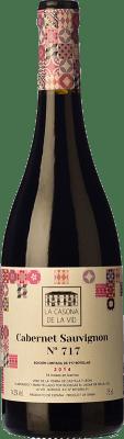 19,95 € Free Shipping | Red wine Lagar de Isilla La Casona de la Vid Crianza I.G.P. Vino de la Tierra de Castilla y León Castilla y León Spain Cabernet Sauvignon Bottle 75 cl
