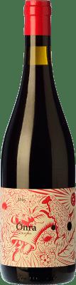 12,95 € Free Shipping | Red wine Lagravera Ónra Negre Joven D.O. Costers del Segre Catalonia Spain Merlot, Grenache, Cabernet Sauvignon Bottle 75 cl