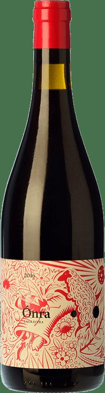 13,95 € Free Shipping | Red wine Lagravera Ónra Negre Joven D.O. Costers del Segre Catalonia Spain Merlot, Grenache, Cabernet Sauvignon Bottle 75 cl