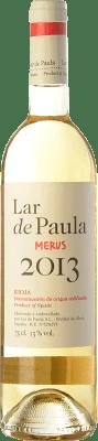 5,95 € Free Shipping | White wine Lar de Paula Merus Crianza D.O.Ca. Rioja The Rioja Spain Viura, Malvasía Bottle 75 cl