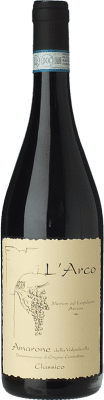 53,95 € Envío gratis | Vino tinto L'Arco Vini D.O.C.G. Amarone della Valpolicella Veneto Italia Corvina, Rondinella, Molinara Botella 75 cl