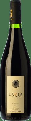 13,95 € Kostenloser Versand | Rotwein Lavia Joven D.O. Bullas Region von Murcia Spanien Syrah, Monastrell Flasche 75 cl