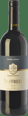 102,95 € Free Shipping | Red wine Le Pupille Saffredi D.O.C. Maremma Toscana Tuscany Italy Merlot, Cabernet Sauvignon, Petit Verdot Bottle 75 cl