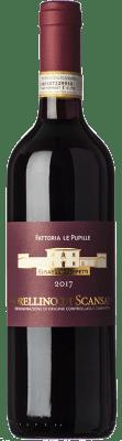13,95 € Free Shipping | Red wine Le Pupille D.O.C.G. Morellino di Scansano Tuscany Italy Grenache, Sangiovese, Malvasia Black Bottle 75 cl