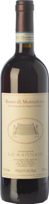 28,95 € Free Shipping | Red wine Le Ragnaie D.O.C. Rosso di Montalcino Tuscany Italy Sangiovese Bottle 75 cl