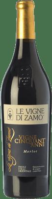 37,95 € Free Shipping   Red wine Zamò Vigne Cinquant' Anni D.O.C. Colli Orientali del Friuli Friuli-Venezia Giulia Italy Merlot Bottle 75 cl
