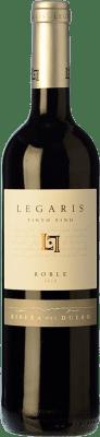 7,95 € Free Shipping | Red wine Legaris Roble D.O. Ribera del Duero Castilla y León Spain Tempranillo Bottle 75 cl