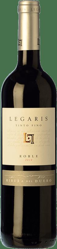 7,95 € Envoi gratuit | Vin rouge Legaris Roble D.O. Ribera del Duero Castille et Leon Espagne Tempranillo Bouteille 75 cl
