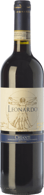 9,95 € Free Shipping   Red wine Leonardo da Vinci Leonardo D.O.C.G. Chianti Tuscany Italy Merlot, Sangiovese Bottle 75 cl