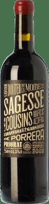 27,95 € Free Shipping | Red wine Les Cousins La Sagesse Crianza D.O.Ca. Priorat Catalonia Spain Grenache, Carignan Bottle 75 cl