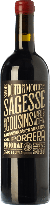 27,95 € Free Shipping | Red wine Les Cousins La Sagesse Crianza 2010 D.O.Ca. Priorat Catalonia Spain Grenache, Carignan Bottle 75 cl