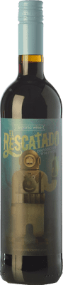 9,95 € Envío gratis | Vino tinto Leyenda del Páramo El Rescatado Joven D.O. León Castilla y León España Prieto Picudo Botella 75 cl