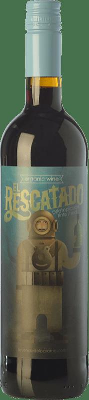 9,95 € Free Shipping | Red wine Leyenda del Páramo El Rescatado Joven D.O. Tierra de León Castilla y León Spain Prieto Picudo Bottle 75 cl