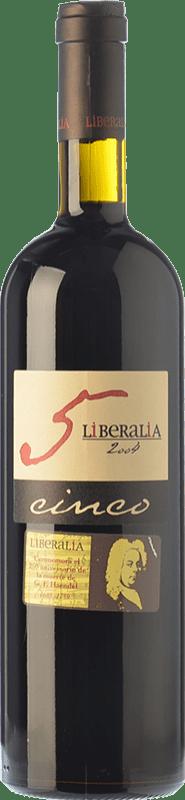 37,95 € Free Shipping | Red wine Liberalia Cinco Reserva D.O. Toro Castilla y León Spain Tinta de Toro Bottle 75 cl