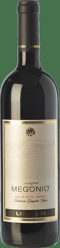 13,95 € Free Shipping | Red wine Librandi Magno Megonio I.G.T. Val di Neto Calabria Italy Magliocco Bottle 75 cl