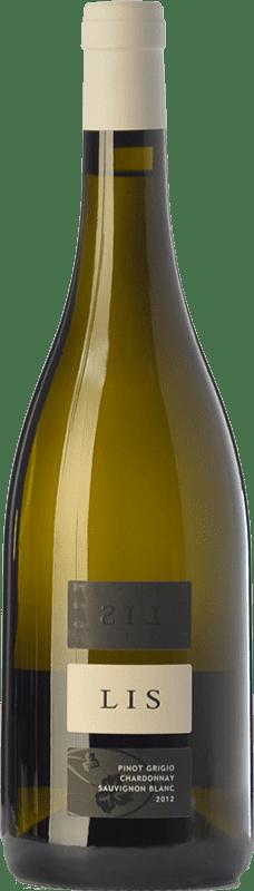 24,95 € Free Shipping | White wine Lis Neris I.G.T. Friuli-Venezia Giulia Friuli-Venezia Giulia Italy Chardonnay, Sauvignon White, Pinot Grey Bottle 75 cl
