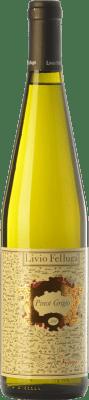 22,95 € Free Shipping | White wine Livio Felluga Pinot Grigio D.O.C. Colli Orientali del Friuli Friuli-Venezia Giulia Italy Pinot Grey Bottle 75 cl