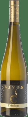 13,95 € Free Shipping | White wine Livon D.O.C. Collio Goriziano-Collio Friuli-Venezia Giulia Italy Friulano Bottle 75 cl