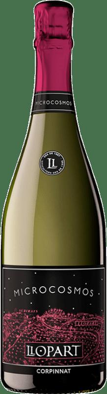 23,95 € Free Shipping | Rosé sparkling Llopart Microcosmos Rosé Brut Nature Reserva D.O. Cava Catalonia Spain Monastrell, Pinot Black Bottle 75 cl