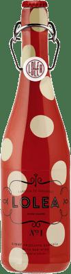 7,95 € Kostenloser Versand | Wein Sangria Lolea Nº 1 Tinto Spanien Flasche 75 cl