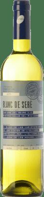 7,95 € Free Shipping | White wine L'Olivera Blanc de Serè D.O. Costers del Segre Catalonia Spain Macabeo, Chardonnay, Parellada Bottle 75 cl