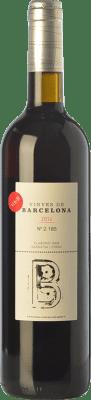 24,95 € Free Shipping | Red wine L'Olivera Vinyes de Barcelona Crianza D.O. Catalunya Catalonia Spain Syrah, Grenache Bottle 75 cl