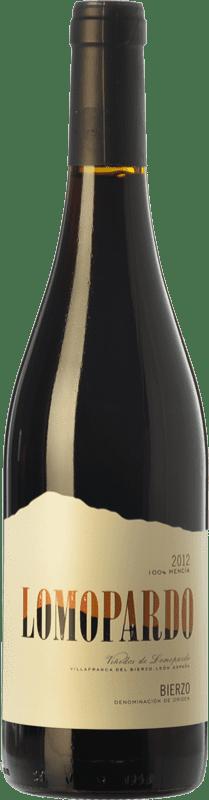 6,95 € Free Shipping | Red wine Lomopardo Joven D.O. Bierzo Castilla y León Spain Mencía Bottle 75 cl