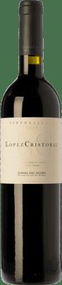 34,95 € Envoi gratuit   Vin rouge López Cristóbal Reserva D.O. Ribera del Duero Castille et Leon Espagne Tempranillo, Merlot Bouteille 75 cl